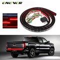 """Onever 60 """"flexível barra de luz traseira de caminhão do carro 12 v 90-led corrida/freio/reverso/sinal/traseiro lâmpada luz de tira smd vermelho e branco"""