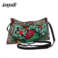 Handbag National Trend Ethnic Embroidered Bag Style Delicate Handmade Embroidered Bags Double Embroidery Shoulder Messenger Bag