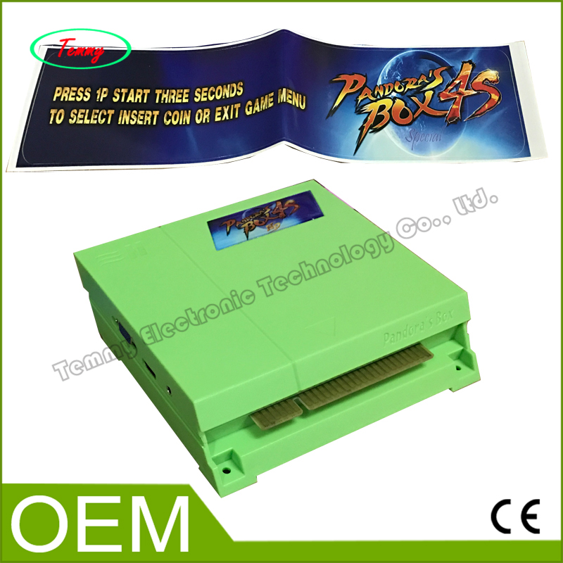ФОТО Pandora's Box 4S  game PCB with 680 games in 1 ,VGA/CGA output jamma multi game board for arcade game machine