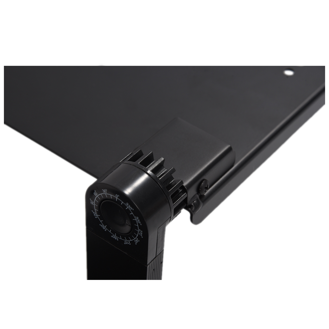 Image 4 - Portable Foldable Adjustable Laptop Desk Computer Table Stand Tray For Sofa Bed Black-in Laptop Desks from Furniture