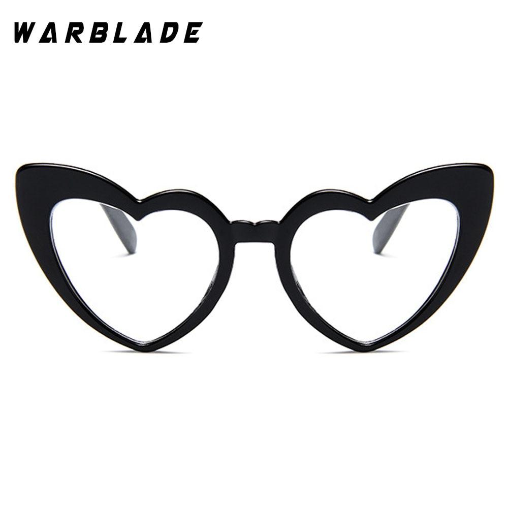 2018 Wanita kacamata Matahari Pria Retro Jantung Cat Eye glasses - Aksesori pakaian - Foto 2