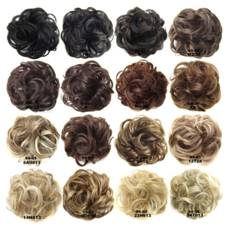 Wig Hair Ring Curly Bride Makeup Bun Flowers Chignon Ponytail Hairpiece Extension Styling Hair Rollers Wigs Accessories