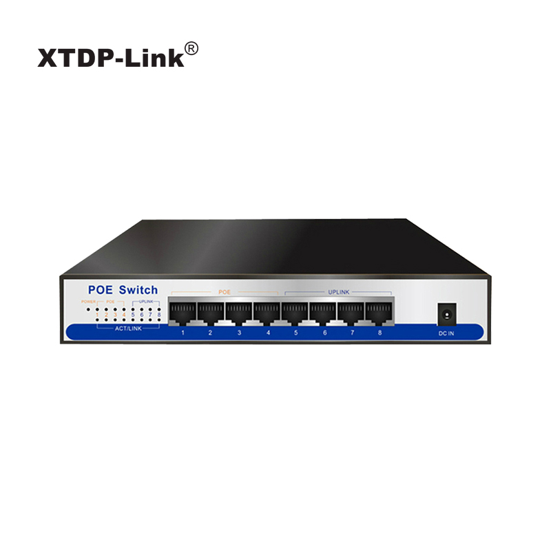 цена на 8 port 10/100Mbps POE Switch 4port POE and 4port Uplink Total Power 65W wireless AP IP camera network remote equipment