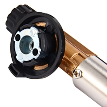 Electronic Ignition Copper Flame Butane Gas Burners Gun For Outdoor Camping Equipment