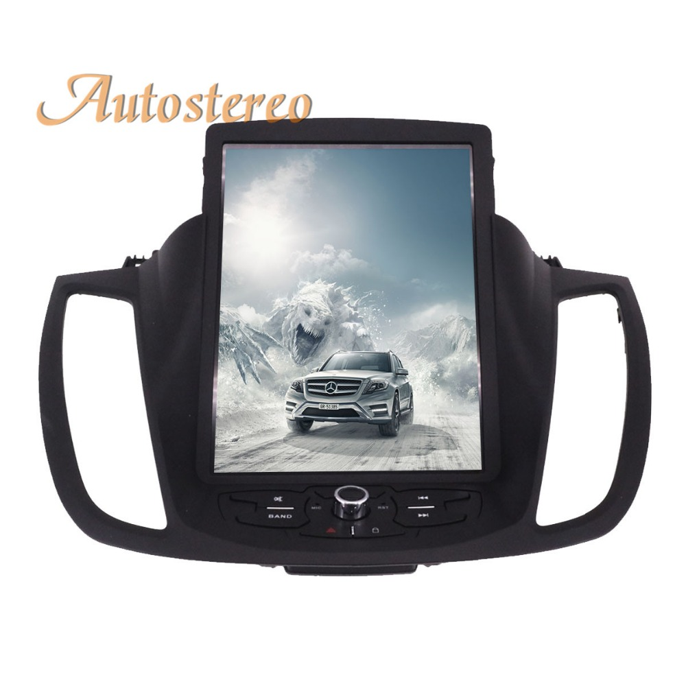 все цены на Pure Android Tesla style Car No DVD Player GPS Navigation For Ford Kuga 2013-2017 Auto navi stereo headunit multimedia recoder онлайн