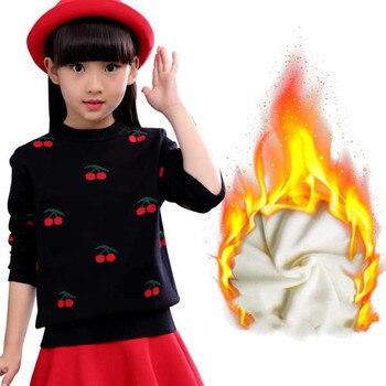 Gruba dziewczyna sweter ubrania dla dzieci 2018 nowa zima bawełna kreskówki dla dzieci swetry dziewczyny płaszcze z dzianiny słodkie dzieci odzież 3st027