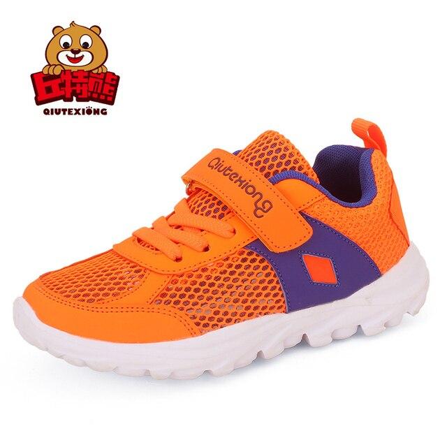 2aedbbce8 Zapatos corrientes ligeros para niñas y niños malla transpirable niños  zapatillas deportivas niños zapatos Primavera Verano
