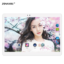 10.1 Inch Tablet PC Android 7.0 Tablet 3G Call Octa Core 4GB+32GB Bluetooth GPS Tablet Dual SIM C WiFi Cameras Full HD screen