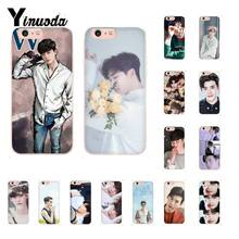 Yinuoda Ster Lee Jong Suk Soft Rubber zwart Telefoon Case voor iPhone 8 7 6 6S Plus X XS MAX 5 5S SE XR 10 Cover Fundas Capa(China)