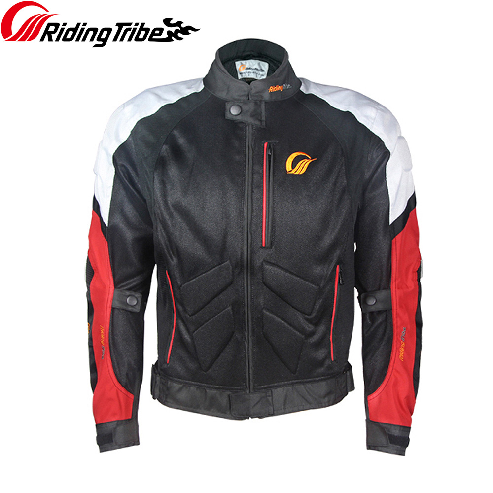 Riding Tribe New Men's Motorcycle Jacket Summer Anti collision Breathable for Moto Rider Motobike clothes Protective guardsJK 39