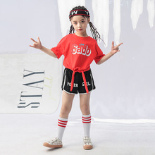 Summer T Shirt Shorts Sets For Girls Two Piece Casual Letter Kids Streetwear Fashion Clothing