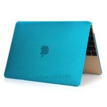 16 видов цветов Новые матовые ноутбука чехол для Apple MacBook Air Pro Retina 11 12 13 15 принципиально ordenador для MacBook pro 13.3 дюймов
