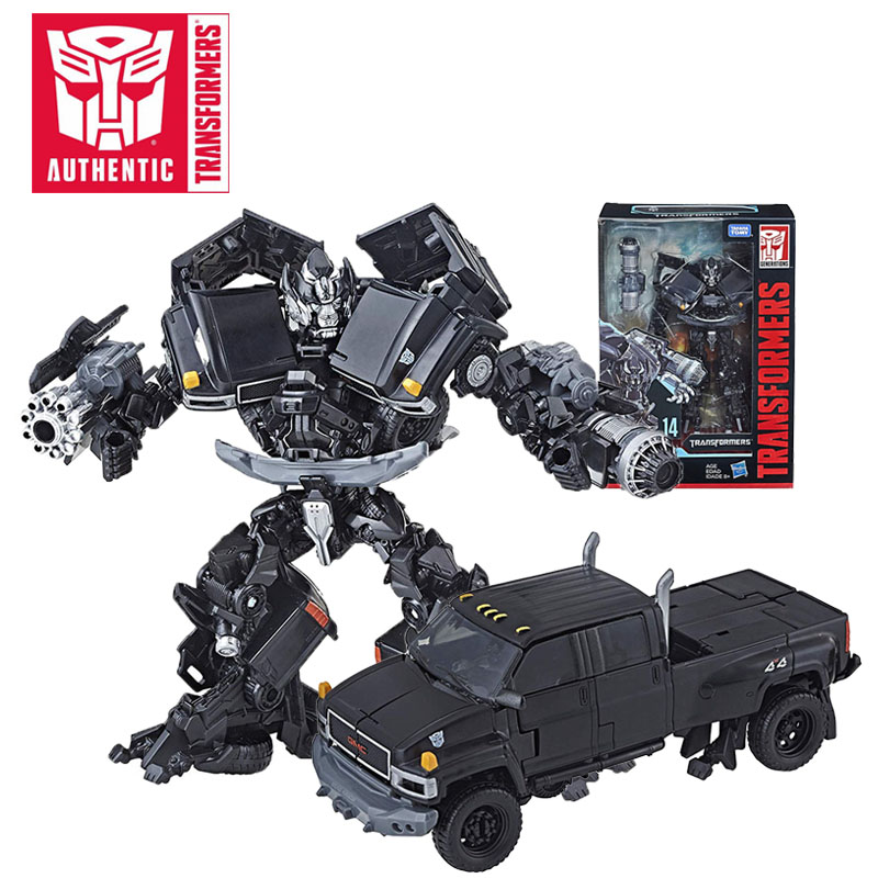 2018 16cm Transformers Toys Studio Series Number 14 Voyager Class Autobot Ironhide Action Figure Collectible Model Movie Toy hasbro transformers toys the last knight premier edition voyager class autobot hound action figure collection model car toy