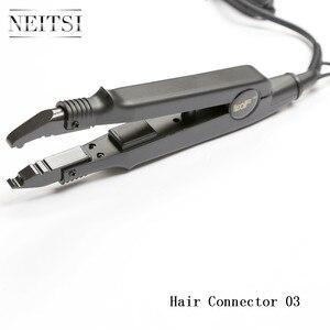 Image 4 - Neitsi connecteur de connexion de cheveux professionnel en fer, outils de coiffure, prise USA/EU/UK