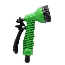 Автомобильный распылитель воды, регулируемый шланг для мытья автомобиля, садовый распылитель, портативный пистолет-разбрызгиватель высокого давления, сопло 7 узоров, струя воды