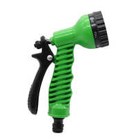 Car Water Spray Gun Adjustable Car Wash Hose Garden Spray Portable High Pressure Gun Sprinkler Nozzle 7 Pattern Water Jet