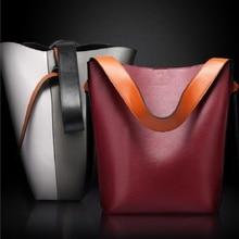 New women leather handbags bolsa feminina de ombro sac a main femme de marque luxe cuir 2016 tote bag