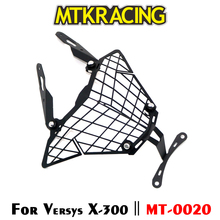 MTKRACING For Kawasaki VERSYS X300 ( Tourer ) X250 Motorcycle modification Headlight Grille Guard Cover Protector