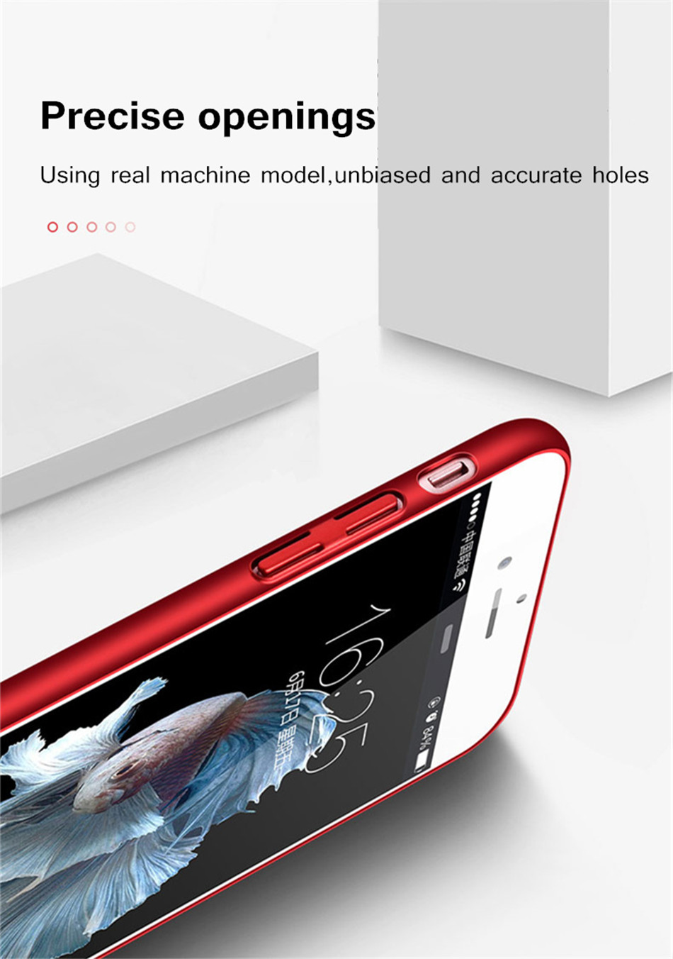 Heat dissipation iPhone Case - Hard Back PC Protect Shell 10
