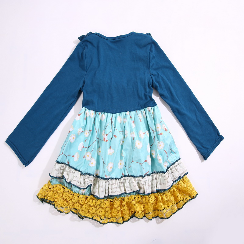 Have a pocket and half regular sleeves 100%cotton Summer with  Ruffle trim and Baby Girls Dress Apparel Accessory for present half a king
