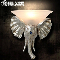 Stylowe minimalistyczny sypialnia lampki nocne lampy ścienne lampy kryształowe oświetlenie korytarza do creative niebo niebieskie ściany