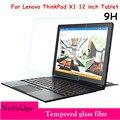 Ultra fina HD Limpar 0.26mm 2.5D Premium Vidro Temperado protetor de Tela Para Lenovo ThinkPad X1 12 polegada Tablet caixa de Proteção filme