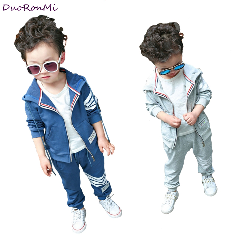 2017 New Arrival Baby Boys Clothing Set Kids Sports Suit Children Tracksuit Girls Coat+ Pant Baby Cotton Outwear Casual Clothes 2016 new type of cotton children tracksuit suit girls underwear baby home clothes and children s clothes