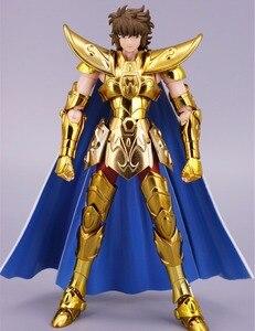 Image 2 - ST S Tempel (MC Metalen Club) Saint Seiya Doek Mythe EX Gold Boogschutter Aiolos model metalen doek
