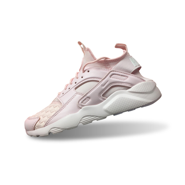 7c0963ef22c0 Original New Arrival Official Nike Air Huarache Run Ultra Women s Snowflake  Peach Color Running Shoes Sneakers 753889-999 36-40