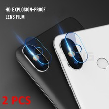 Back Camera Lens Clear Tempered Glass For Xiaomi Mi A2 8 Lite SE Redmi Note 5 Pro Redmi 6pro 5plus 6 6A Pocophone F1 Screen Film(China)