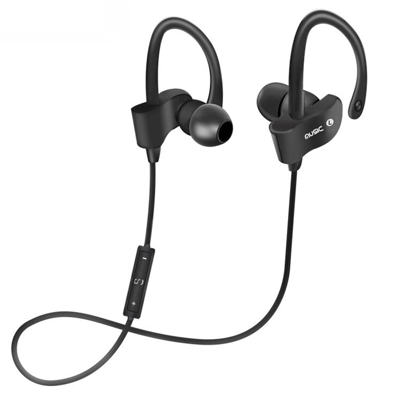 Fashion Bluetooth CSR Running In Ear Earphone Stereo Bass Sport Wireless Headphone With Microphone For Mobile