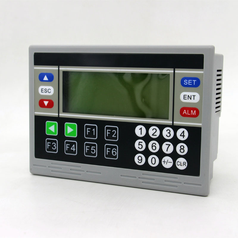 PLC et HMI OP320-A Texte Affichage, 10DI 8DO 18MR relais sortie avec rs485 4AD 2DA (0-10 v) En temps Réel horloge