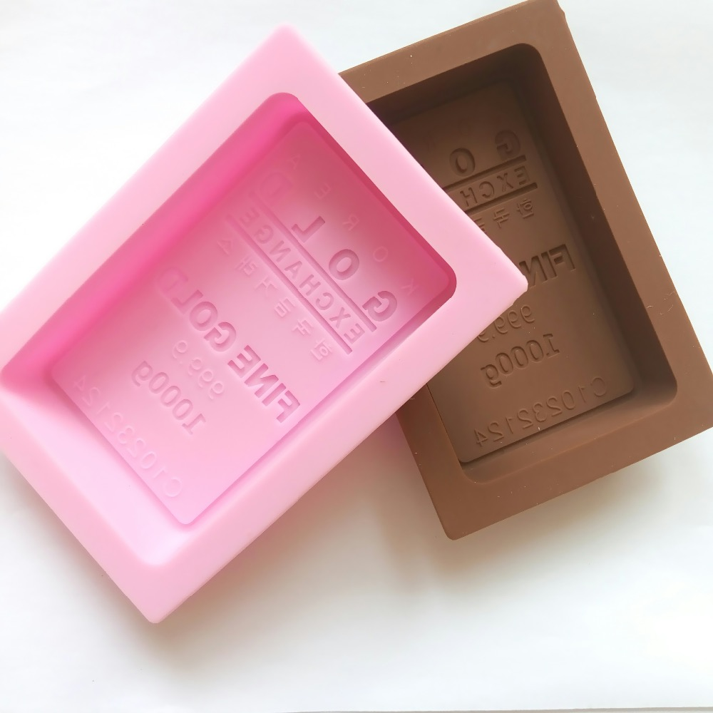 New Arrival Korea Gold Silicone Cake Mold Fondant Molds Ice Soap Chocolate For The Kitchen Baking Tools In From Home Garden On