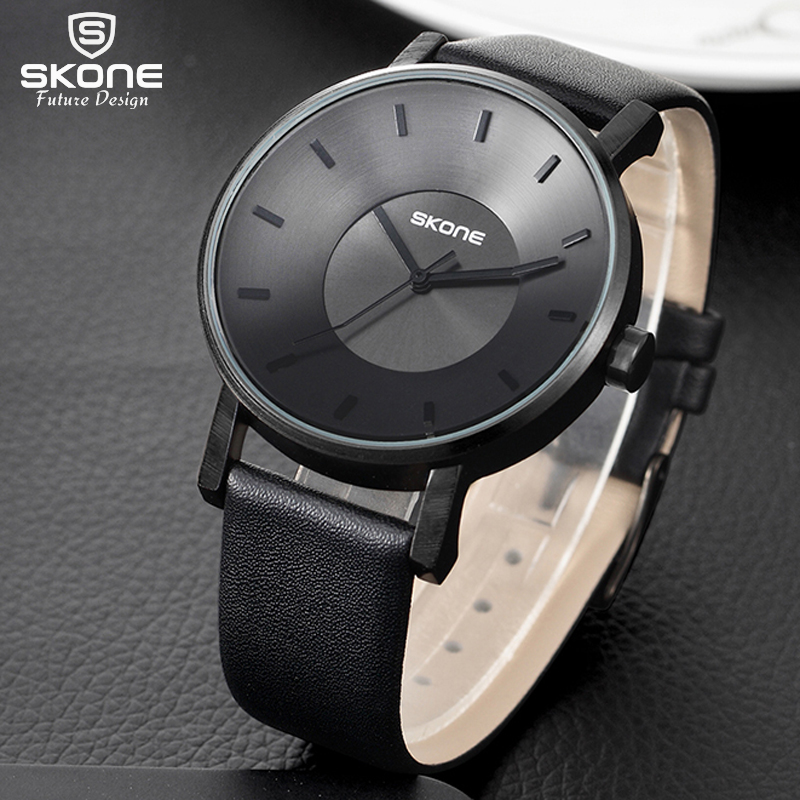 SKONE 2017 New Creative Brand Watches Men Women Fashion Casual Sport Clock Classical Black Quartz Wrist Watch Relogio Masculino  new top brand watches men women fashion casual sport clock classical nylon male quartz wrist watch relogio masculino feminino