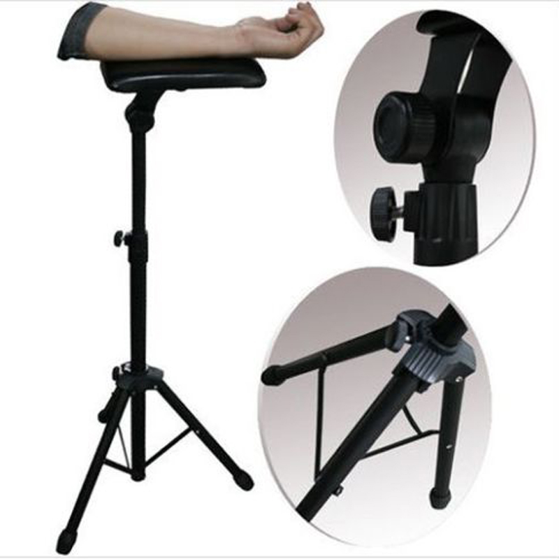 Tattoo Bracket Arm Leg Rest Stand Portable Adjustable Height Holder Tripod Machine For Tattooing Studio Work Supply цена 2016