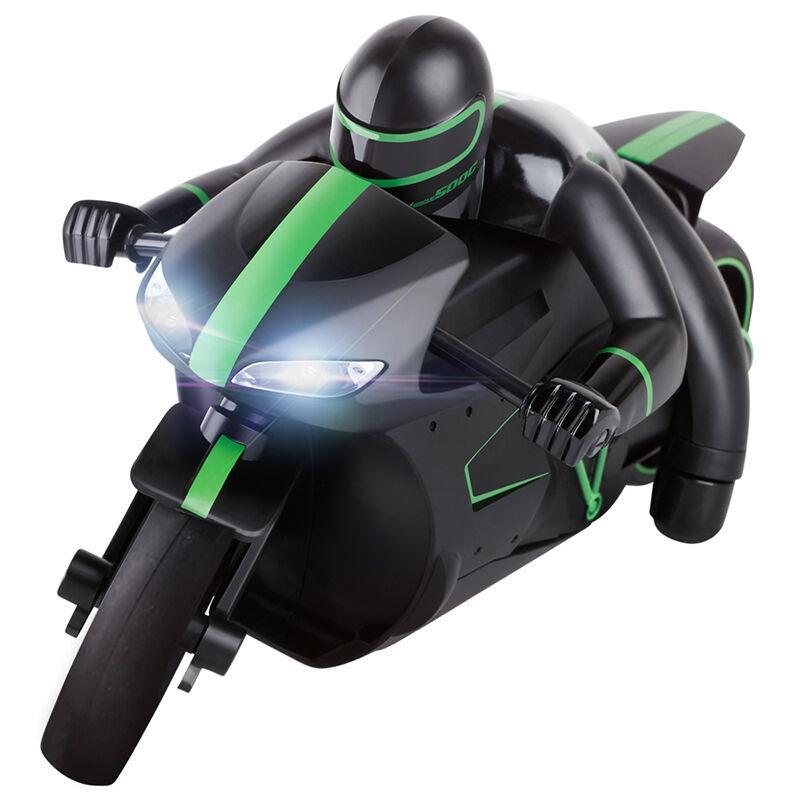 Nueva 4CH 2.4g RC motocicleta velocidad de alta velocidad RC Racing motocicleta