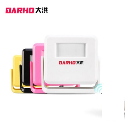 DARHO hello welcom Wireless Doorbell PIR Store Shop home Welcome Motion Sensor Infrared Detector Induction Alarm Door Bell плед сruise welcom