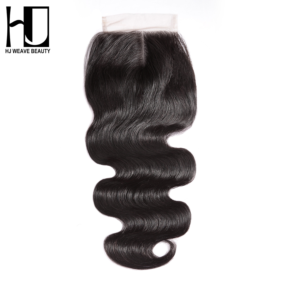 Where to buy hair closures -  Hj Weave Beauty Lace Closure Brazilian Body Wave Remy Hair Natural Color 100