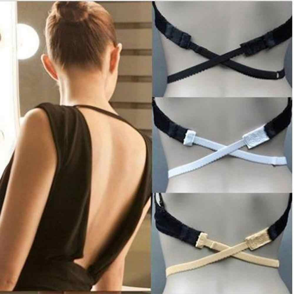 1 PC Hot Moda Backless Bra Strap Adapter Converter Totalmente Ajustável Extender Gancho Moda feminina Bra Strap Adapter