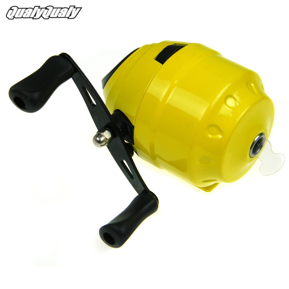 Spinning fishing reel coils  trolls carretilha Yellow bowfish Baitcasting reel Spinneret Spin Cast Fishing Reels Spool windlass