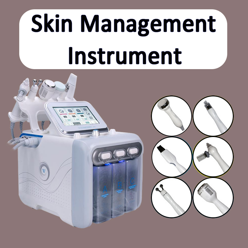 2018 NEWSET Salon Hydra WaterRF Bio-lifting Spa Facial Machine Cold Hammer Oxygen Spray Multi-Functional Beauty Equipment