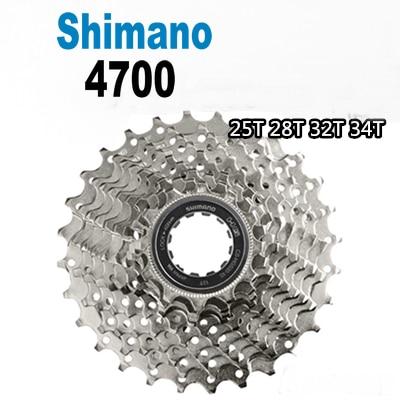 Original Shimano Tiagra 4600 4700 CS-HG500 10 Speed Road Bike Cassette flywheel 11-25 12-28 11-32 11-34T