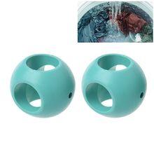 2pcs Anti Limescale Magnetic Laundry Balls Purified Water Ball Washing Machine Accessories