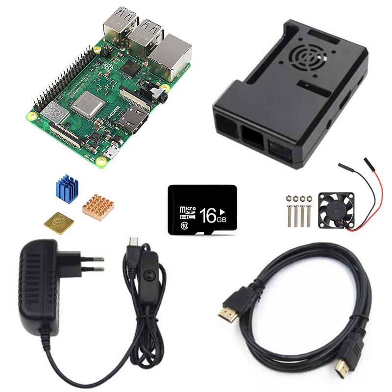 Carte de démonstration Oringnal RS Version Raspberry Pi 3 modèle B + carte Raspberry Pi 3 B Plus carte mère avec WiFi et Bluetooth - 4