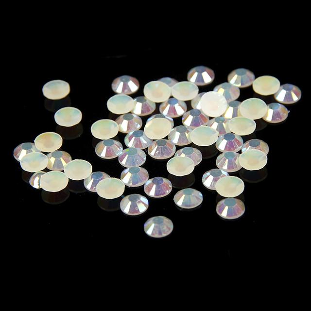2mm-6mm de Champanhe AB Strass Resina 10000 pcs-50000 pçs/lote Soltas Pedras De Cristal DIY 3D Unhas Casos de Telefone de arte Decoração