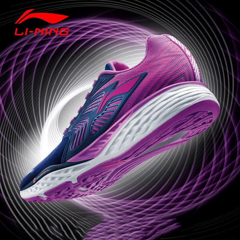 Li Ning Women s Cloud IV Running Shoes Professional Cushioning Breathable Sneakers LiNing Sports Shoes ARHM026