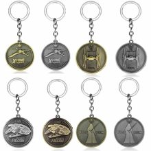 Movie Star Wars Spaceship Key Chains Holder Fashion Vintage Metal Coins Millennium Falcon Serenity Firefly Warships Car Keyrings(China)