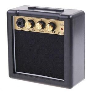 Высокое качество, новейший PG-5, 5 Вт, Электрический усилитель для гитары, динамик, регулятор громкости, детали и аксессуары для электрогитары