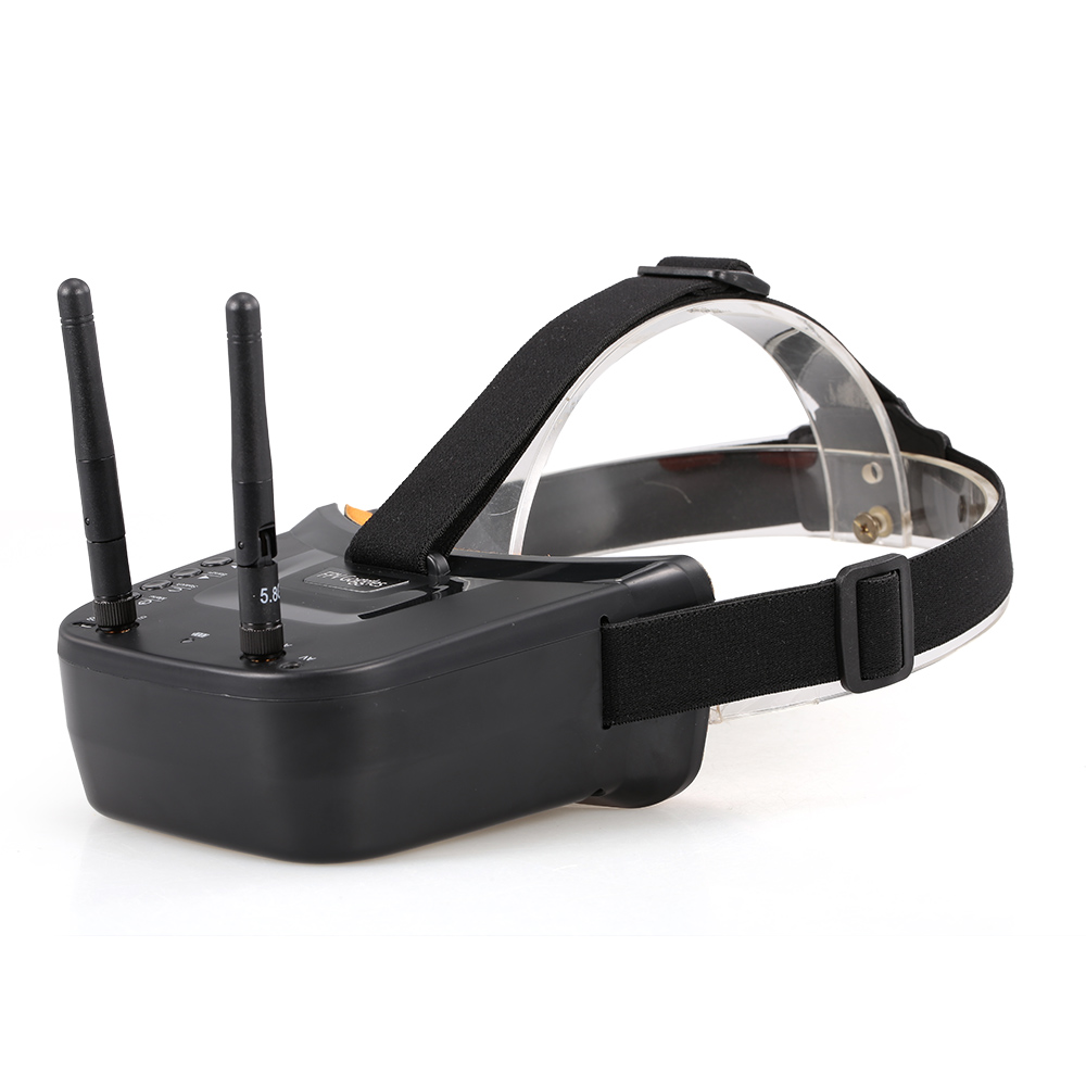 5 8G 40CH Dual Antennas FPV Goggles Monitor Video Glasses Video Headset HD for Racing Drone