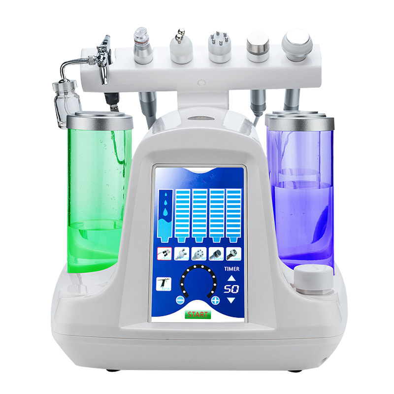7 In 1 Water Oxygen Facial Machine BIO For Deep Cleansing Exfoliating Skin Whitening Anti-acne Face Lifting Moisturizing Machine